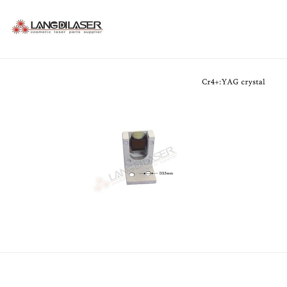 Cr4 YAG crystal size 8 8 4mm for Q switched ND YAG laser sytem
