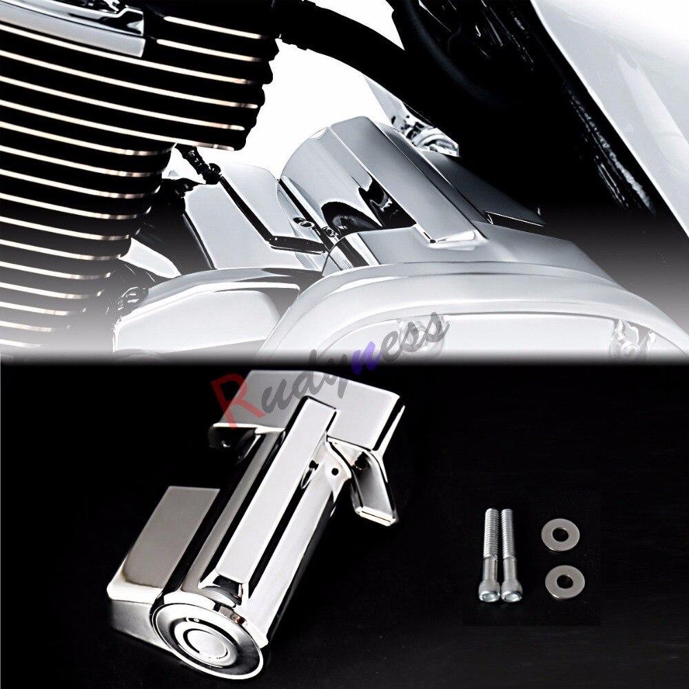 Chrome Regulator Cover For Harley Touring Street Glide Road King FLHX 2017-2019
