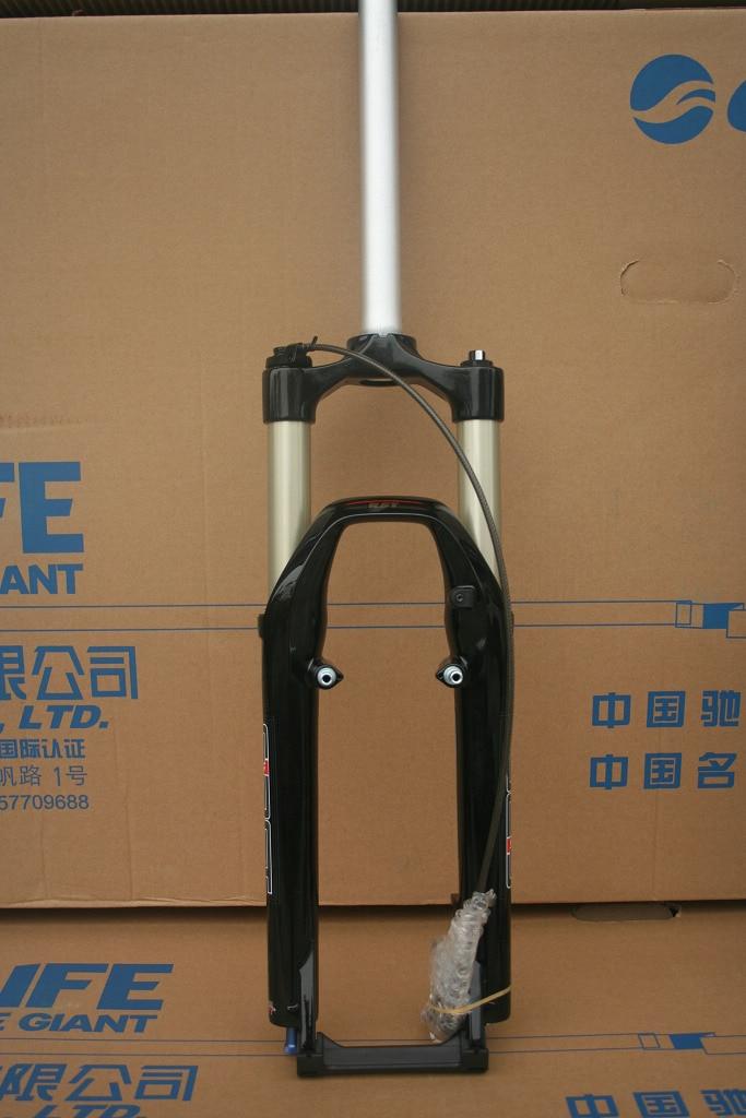 """Image 2 - 26"""" RST First Air Suspension Fork  Remote control, Manual control, rebound adjustable,  v brake , disc brake forkBicycle Frame   -"""