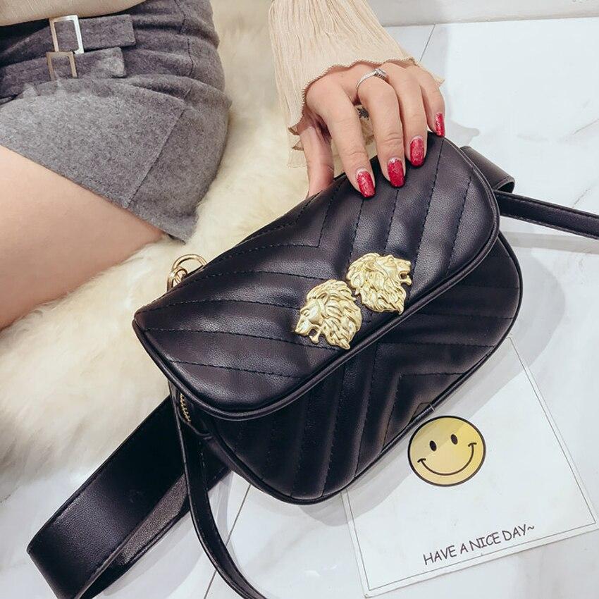 TOYOOSKY women waist bag 2018 Newest Fashion Women Waist SAC PU Leather Belt Bag Ladies Portable Phone Case Female Fanny