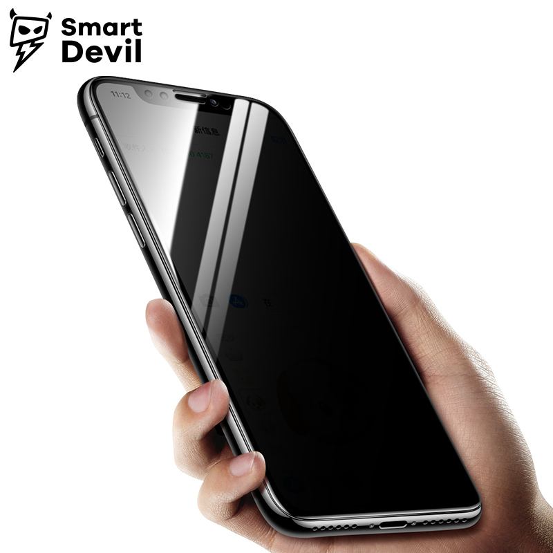 SmartDevil Anti Spy Screen Protector For iPhone 8 7 6 6s Anti Peeping Tempered Glass For iPhone 8 7 6 6s Anti Glare Privacy Film|screen protector|anti-glare screen protector|phone film - title=