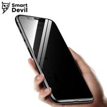 SmartDevil Anti Spy Screen Protector For iPhone 8 7 6 6s Peeping Tempered Glass Anti-Glare Privacy Film