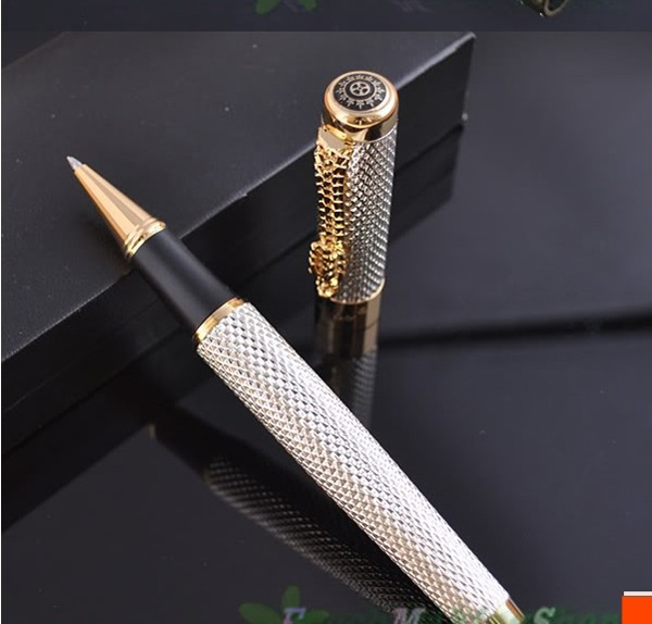 Luoshi New Arrival Nice Quality Jinhao 1200 Metal Ballpoint Pen Luxury Dragon Clip Brand Business Gift Pen better noblest jinhao 1200 dragon clip roller ball pen complete golden