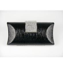 1451P-BK Crystal BLACK Lady Fashion Abend-hochzeits-brautparty-nacht kupplung geldbörse handtasche fall box IN KOSTENLOSER VERSAND