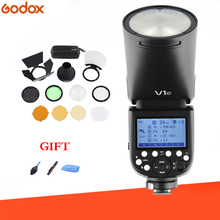 Godox V1 Flash + AK-R1 Kits TTL 1/8000s HSS 2600mAh lithium battery Speedlite Flash for Canon Nikon Sony Fujifilm Olympus