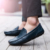 KLYWOO Moda Hombre Mocasines 2017 Pisos Nuevos Auténtico de la Marca Casual Hombres Zapatos de Cuero de Los Hombres Conducir Zapatos Hechos A Mano Zapatos Mocasines