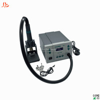 Lead Free QUICK 861DW Hot Air Gun Rework Station Soldering Station