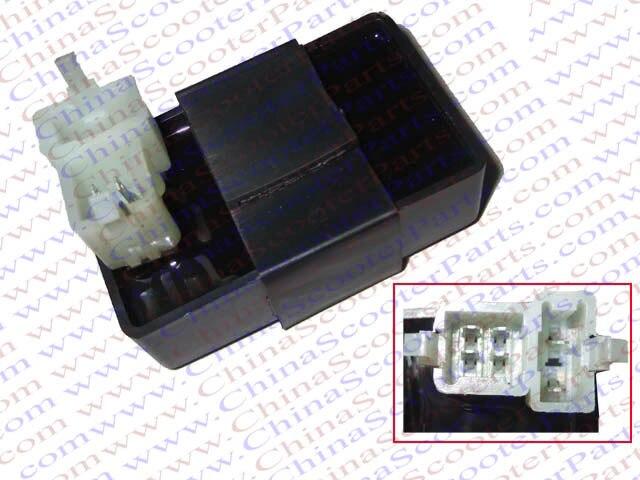 Atv Parts & Accessories 6 Pin Two Squre Plug Ac Cdi Ignition Box Cg 125cc 150cc 200cc 250cc Pit Dirt Bike Atv Quad Parts