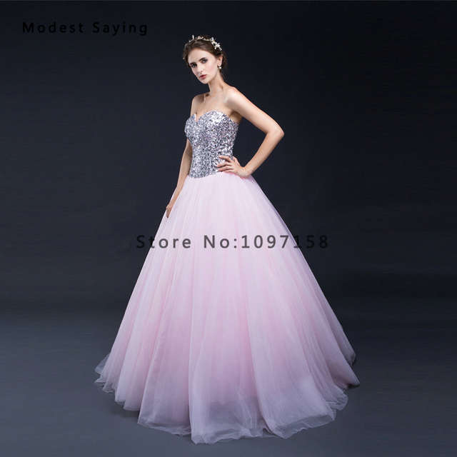 Sexy Purple Ball Gown Beaded Evening Dresses 2017 with Rhinestone Long  Formal Engagement Party Prom Gowns 5090b42d83d0