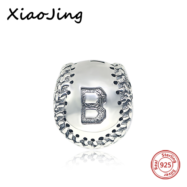 Sports style 925 sterling silver beads baseball pendants charms sports style 925 sterling silver beads baseball pendants charms beads fit authentic pandora bracelet jewelry boy aloadofball Gallery