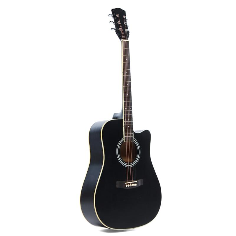 41 Inch Ballad Basswood Face Single Guitar Top Grade Single Board Acoustic Guitar With Original Guitar Accessory