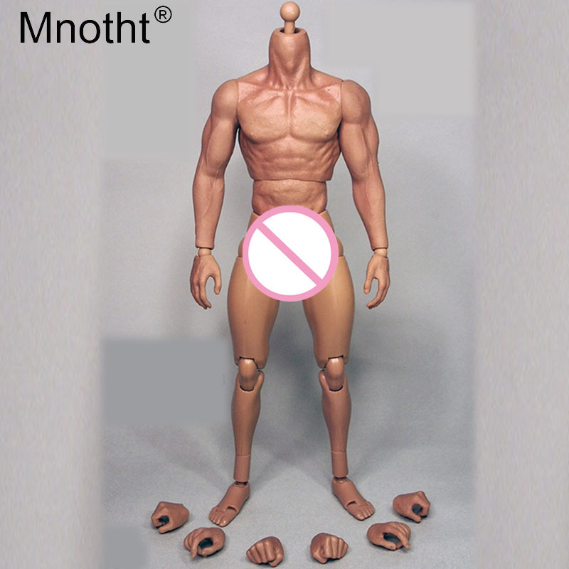 Mnotht 1/6 Flexible Muscle Nude Male Body Model fit for men soldier head sculpt 12in Toys Soldier Action Figure Collection me 90% new laptop cpu cooling fan for hp eliteone 800 g1 705 g1 733489 001 dfs602212m00t fc2n mf80201v1 c010 s9a 023 10006