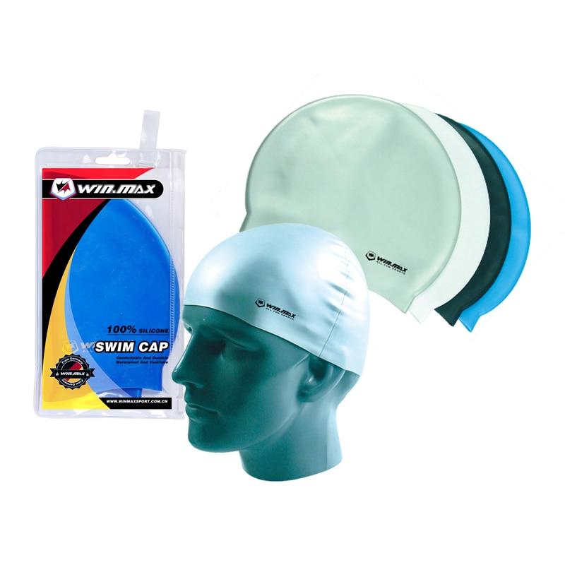 2015 Winmax Anti vaho y Anti UV Adult Swim gafas natación Goggle y gorro de baño
