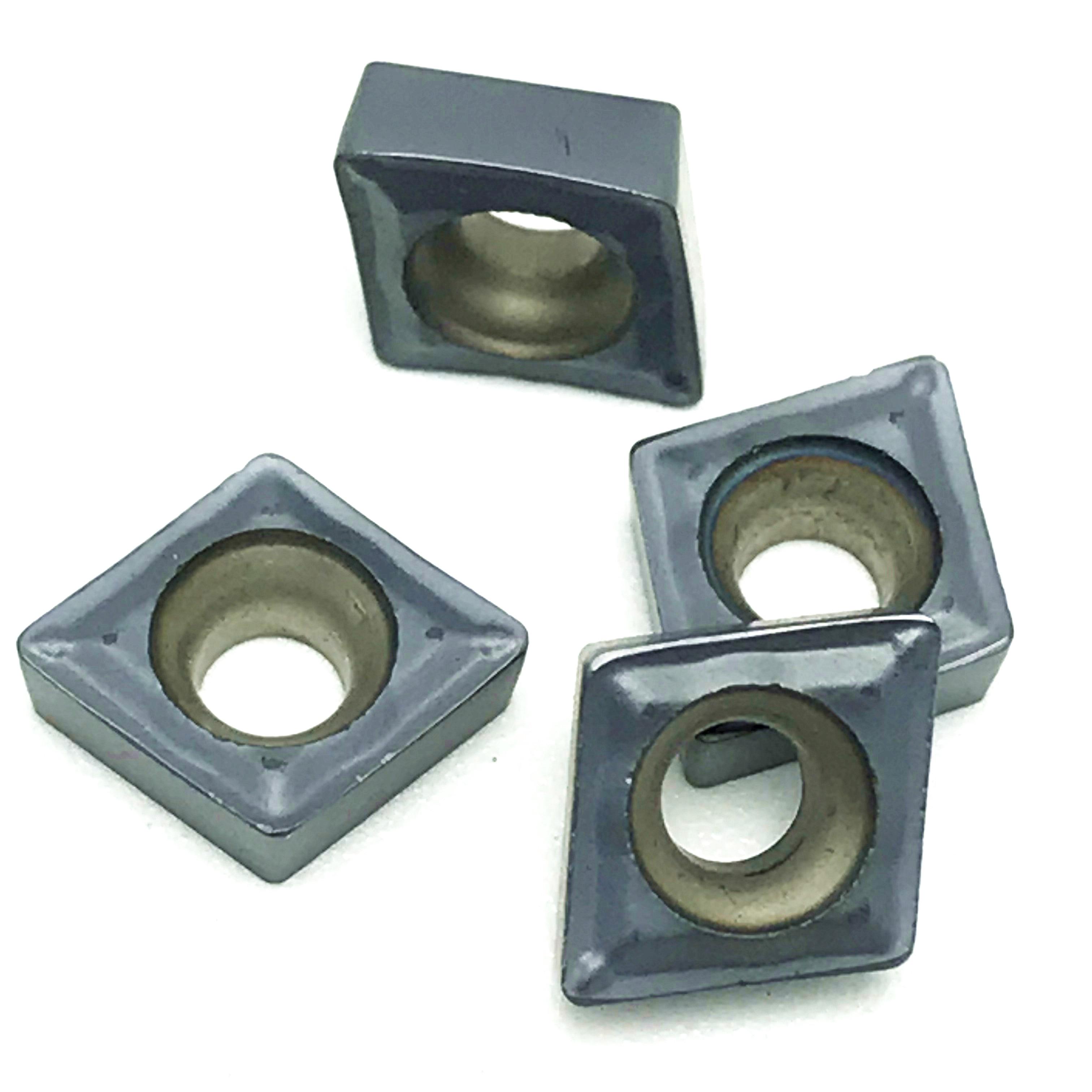 50PCS CCMT2-1-SM CCMT060204-SM IC907 High quality machining lathe Inserts