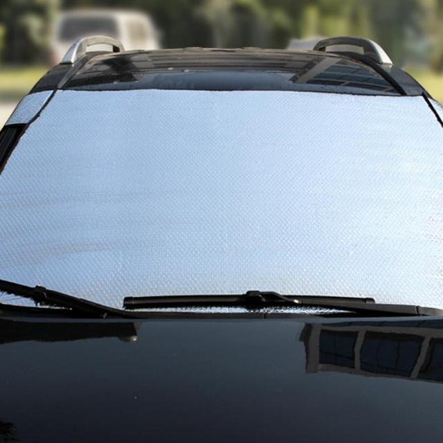 Front Door Side Window Film: Visor Cover Block Windshield Sun Shade Car Front Window