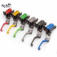 Dirt Bike Motorcycle Master Cylinder Reservoir Hydraulic Brake Clutch Lever 7 8 For Suzuki RM125 RM250