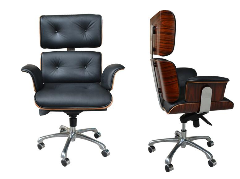 Stylish office chair home computer. Boss chair leather chair.. the boss chair is real leather the home can be massaged leather big class chair seat computer chair