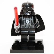 Darth Vader With Lightsaber Minifigure XINH 102 Star Wars Children Gift Building Blocks Sets Model Bricks Toys For Children