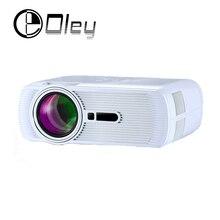 Más barato CT80 pico portable llevó el mini proyector de bolsillo digital de cine en casa de videojuegos HDMI TV Beamer projetor proyector de la venta caliente