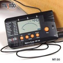 Musedo sintonizador mt-30 metro-tuner 3-en-1, metrónomo, Generador de tonos de Guitarra, Bass, Ukulele, violín
