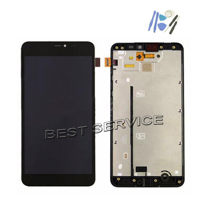 2019 Latest Design For Nokia Lumia 640xl 640 Xl Lcd Display With Touch Screen Display Digitizer Bezel Frame Assembly + Tools