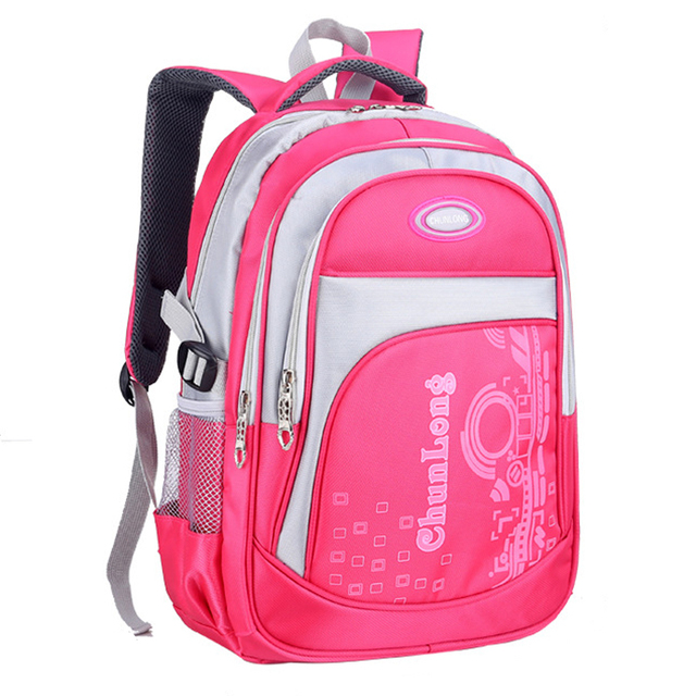 Orthopedic School Bags Laptop Bag Kids Backpack Schoolbag Children Nylon Waterproof Satchel