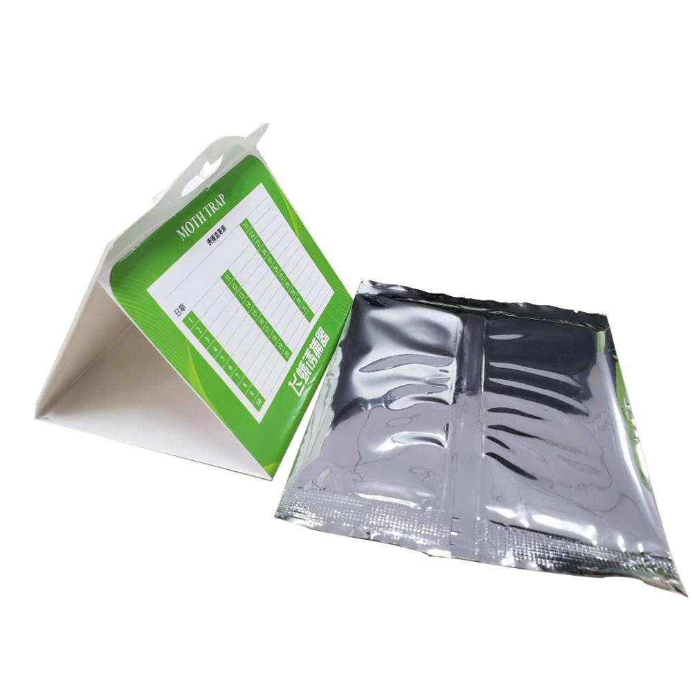 3 Pcs Cloth Pantry Food Moth Trap Pheromone Killer Paste Sticky Glue Trap Pest Reject Fly Insects Family Factory Restaurant Use