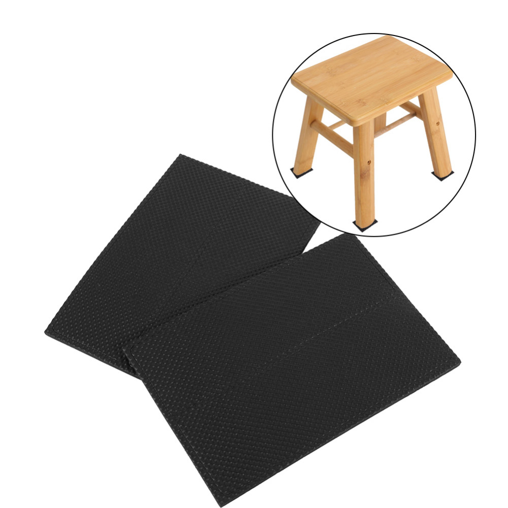 Round Square Rectangle Black Non Slip Self Adhesive Floor Protectors Tiles  Floor Wall Furniture Desk Chair TRP Rubber Feet Pads