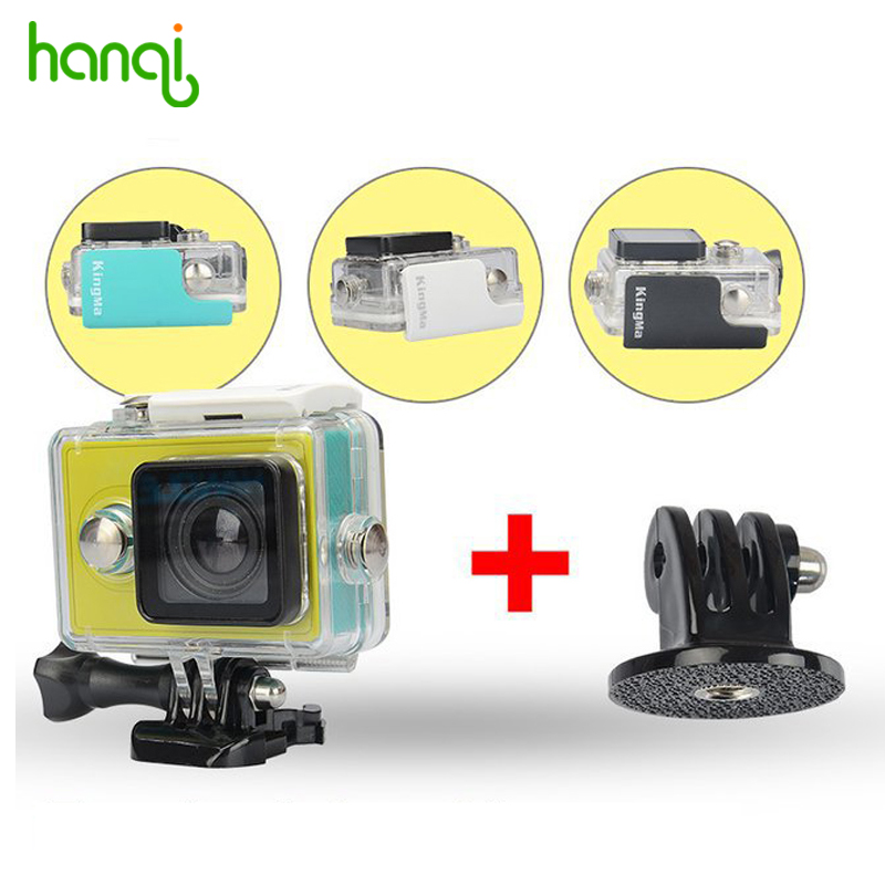 KingMa Original font b Xiaomi b font Yi Waterproof Case Mi Yi Action Camera 40M Diving