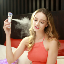 Face Sauna Spa Sprayer Beauty Hydrating Water Portable Facial Body Steamer Ultrasonic Humidifier Whitening Nano Face Cleaning