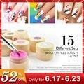 Venalisa nuevo 2019 manicura uñas arte consejos 180 Color UV LED remojo de Gel laca pintura esmalte Gel tinta UV gel para diseño de uñas