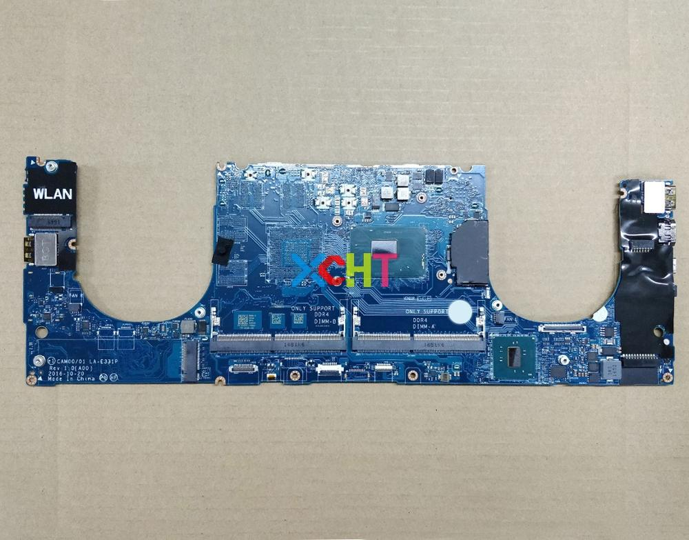 for Dell XPS 9550 4GXH1 04GXH1 CN 04GXH1 CAM00/01 LA E331P i5 7440HQ Laptop Motherboard Mainboard Tested-in Laptop Motherboard from Computer & Office
