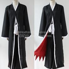 Bleach Cosplay Ichigo Kurosaki Bankai Hollow Mask Wig Men Halloween Cosplay Costume