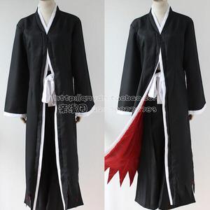 Image 3 - Anime Bleach Ichigo Kurosaki Bankai Rỗng Mặt Nạ Tóc Giả Nam Halloween Trang Phục Hóa Trang