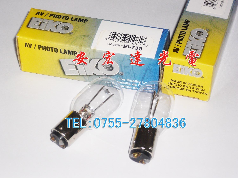 ФОТО  Time-limited New Arrival Transparent Tungsten Halogen Lamp Lampara Piloto Eiko Microscope Bulb E1-738 6v5w Tb-1