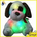 Горячая Продажа! 30 см СВЕТОДИОДНЫЕ Светящиеся Собака Плюшевые Игрушки Ночное Свечение Сияющий Плюшевые Собаки Детские Игрушки День Рождения Валентина Рождественские Подарки ST079