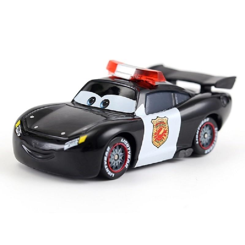 MT Cars 2 Dinoco Transforming Lighting McQueen Metal Toy Car 1:55 Loose Vehicle
