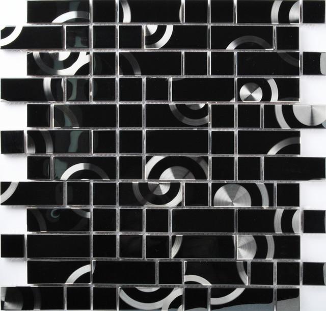 Aliexpress.com : buy tst stainless steel tiles black metal ...