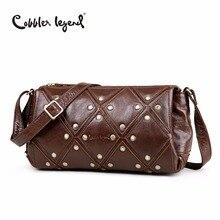 Cobbler Legend Brand New Women's Shoulder Bags Genuine Leather Bag Female Crossbody Bags Bolsa For Ladies And Girls Handbag цена