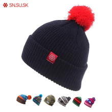 2019 Winter Ski Hat Warm Woolen Caps For Men Hats Female Bea