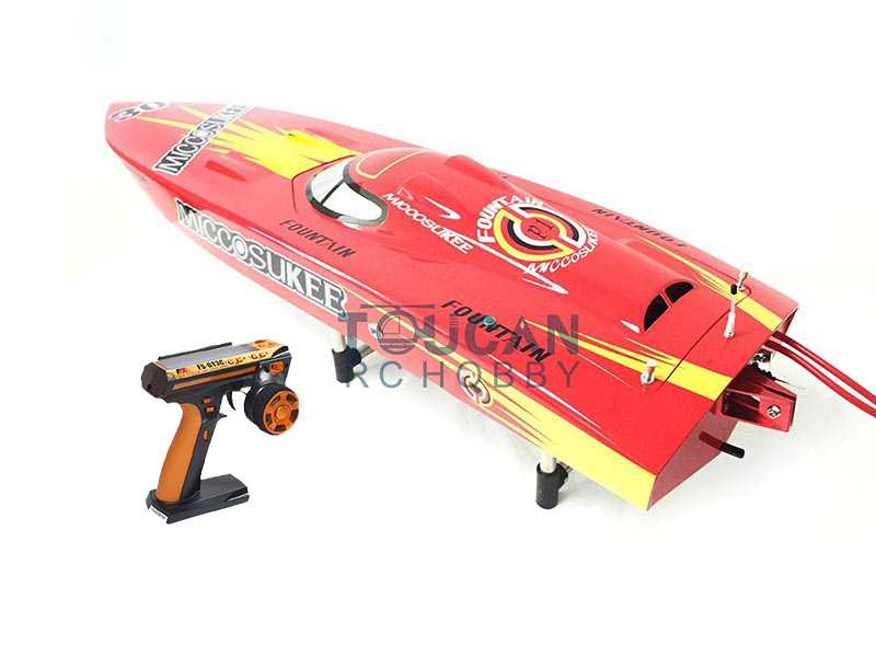 G26IP1 ARTR-RC Fiber Glass 26CC Gasoline Racing Speed RC Boat  W/ Propeller/Water Cooling system/Radio System Red aluminum water cool flange fits 26 29cc qj zenoah rcmk cy gas engine for rc boat
