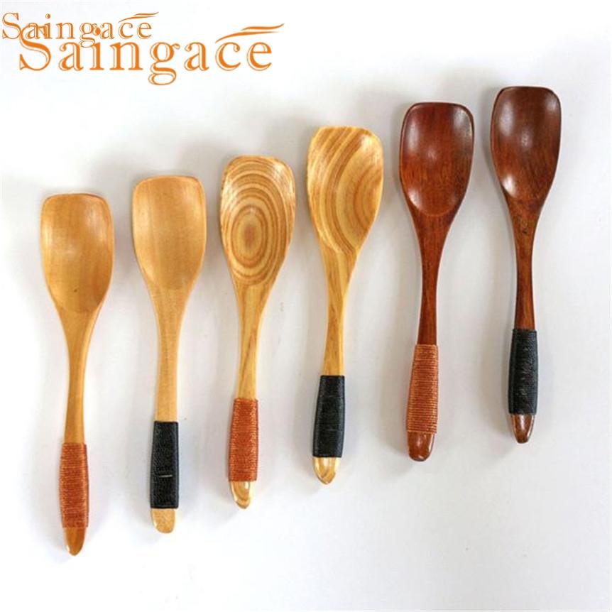 casa pi ampia saingace cucchiaio di legno di bamb cucina casalinghi strumento soup cucchiaino ristorazione oct107