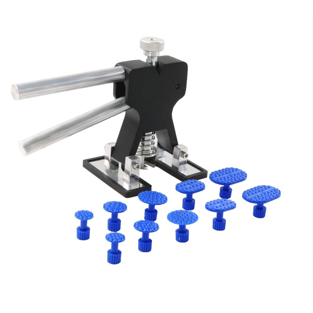 PDR Tools Paintless Dent Repair Remover Dent Lifter Kit Glue Puller Hand Lifter Car Dent Ferramentas Sheet Metal Tools Set Black