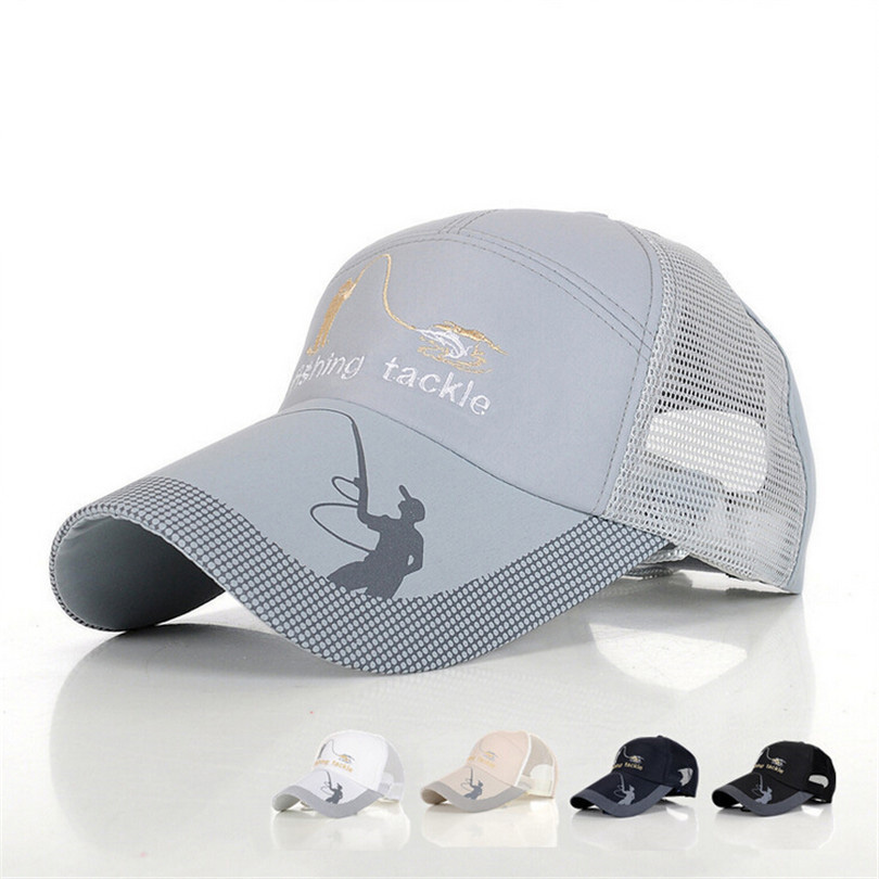Buy outdoor fishing hats for men anti uv for Mesh fishing hats