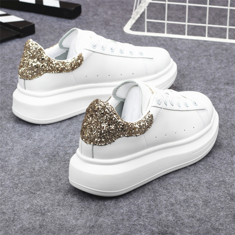 New Fashion Vulcanize Shoes Trainers Women Sneakers Casual Shoes Basket Femme PU Leather Tenis Feminino Zapatos Mujer Plataforma 58