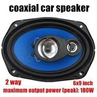 2 Pcs 2x180W 2 Way 6X9 Inch Auto Door Component Speakers Car Coaxial Speakers Car Audio