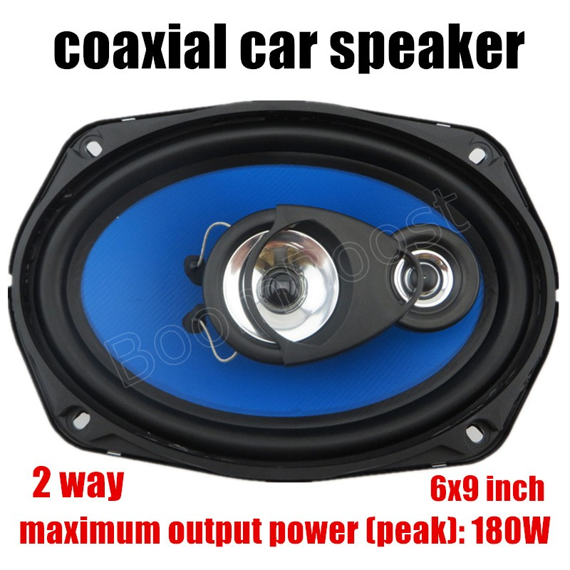 2 pcs 2x180W 2 way 6X9 inch auto door component speakers Car Coaxial Speakers Car Audio stereo speaker brand new pioneer d series ts d6902r 6x9 720 watt peak 160 watt rms pair 2 way coaxial car speakers with dual layer imx aramid basalt fiber composite cone