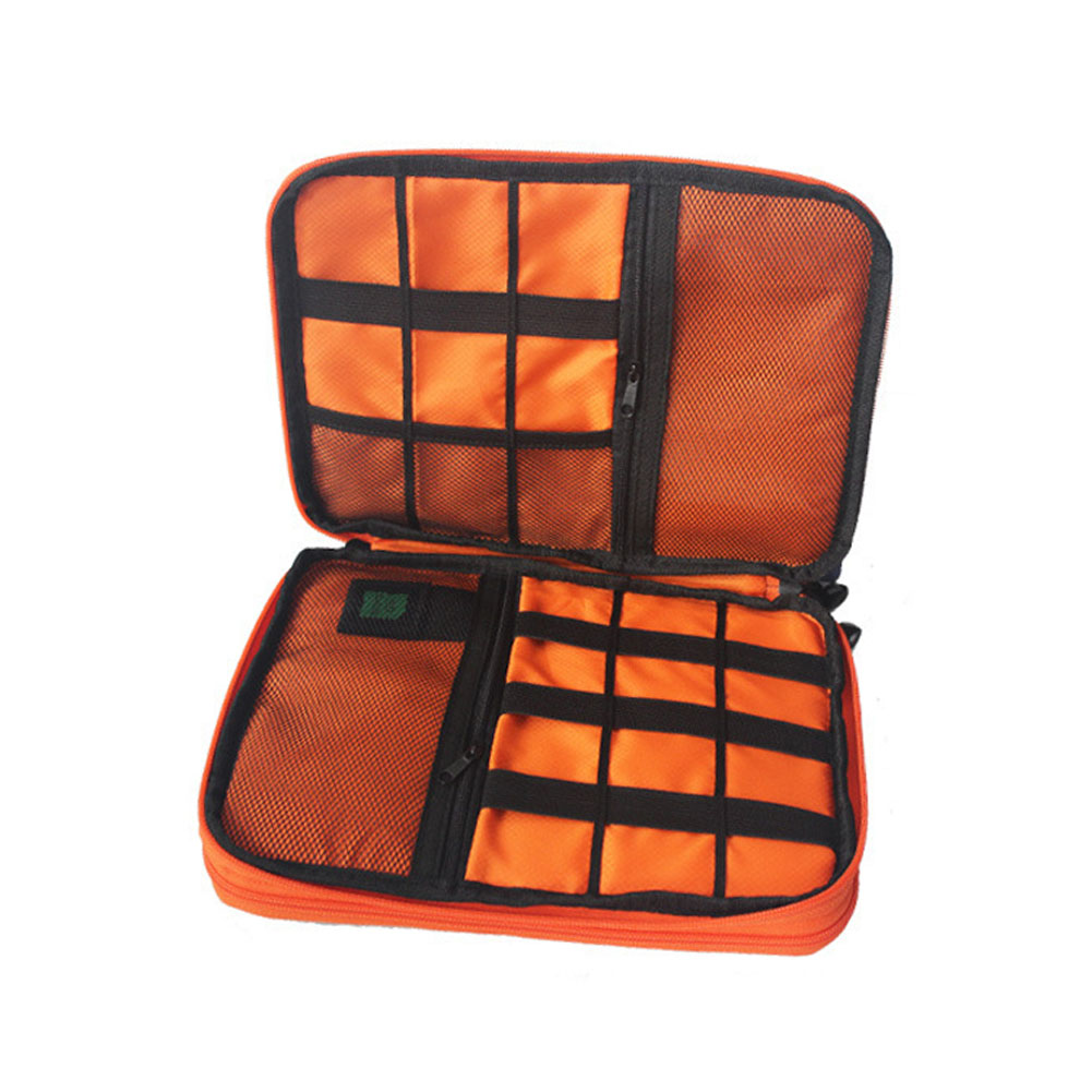 Newly Travel Electronics USB Charger Storage Bag Case Data Cable Organizer Bag Packet