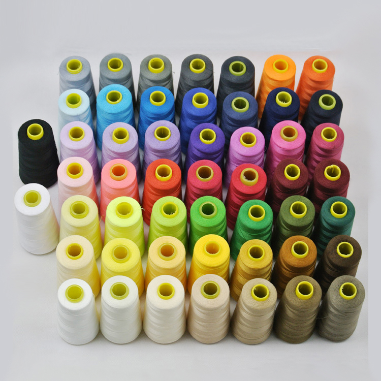 40s/2 Sewing Threads High Strength Curtain/Cushion/Dress Thread/Sewing Yarn/work Piece For Needlework Accessories 1pcs/lot