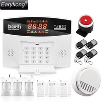 Hot Selling GSM Alarm System Support English Russian Language Door Window Open Detector Motion Alarm Support